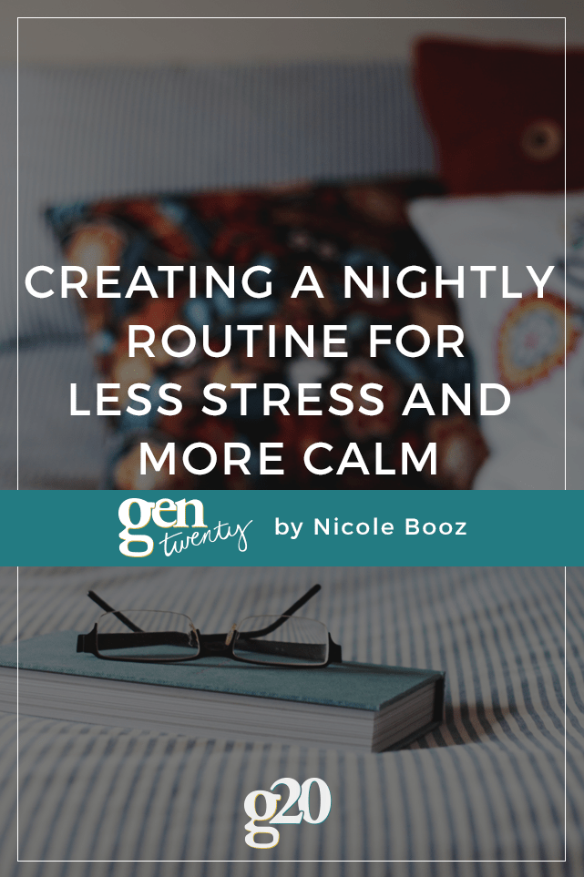 Day 16: Create a Nightly Routine
