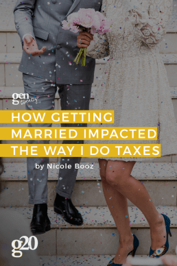 How Getting Married Impacted The Way I Do Taxes