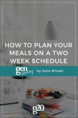 How To Save Time and Money With a Two-Week Dinner Schedule