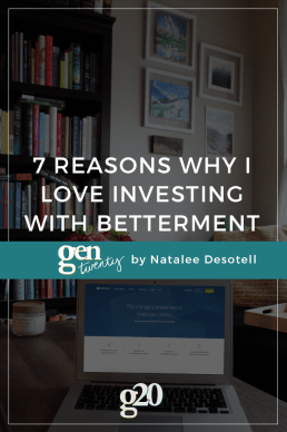 Why I Love Investing with Betterment