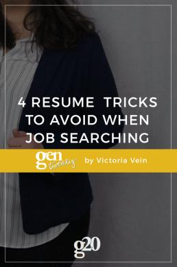 4 Resume Tricks You Should Definitely Avoid