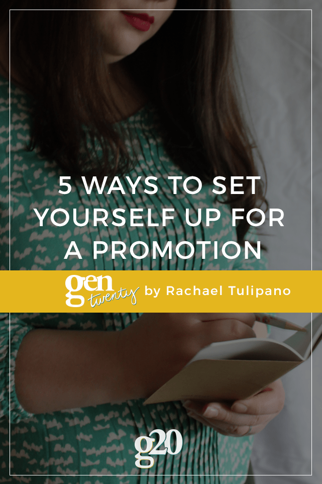 If you are working to set yourself up for a promotion within the next year, use these five tips to stand out from the crowd.
