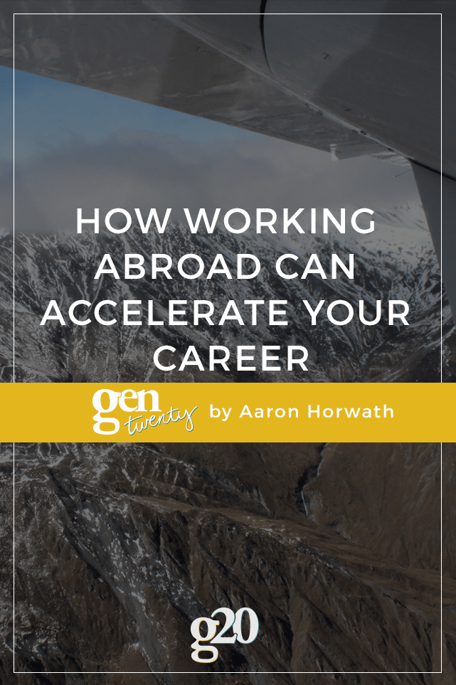 It takes resilience, savvy, and grit to land a position abroad, but the professional and personal boost it affords is priceless.