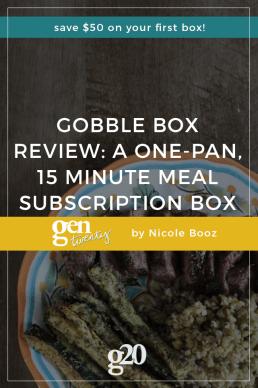 Gobble Box Review: Convenient, Fast, Easy, Flexible