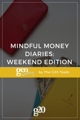 Mindful Money Diaries: Weekend Edition