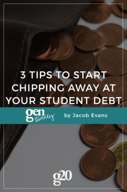 3 Tips to Start Chipping Away at Your Student Loan Debt