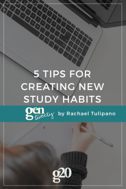 5 Tips For Creating New Study Habits