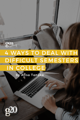 Dealing with Difficult Semesters in College
