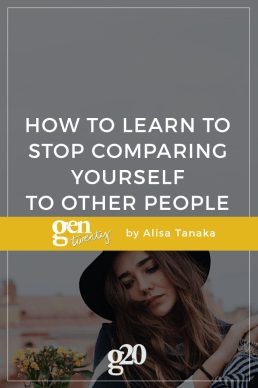 How I'm Learning To Stop Comparing Myself To Others