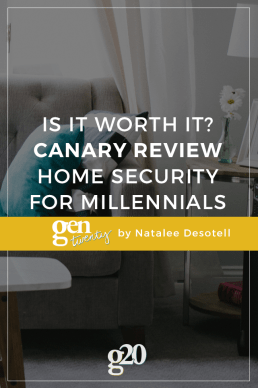 Is It Worth It? Home Security for Millennials - Canary Review