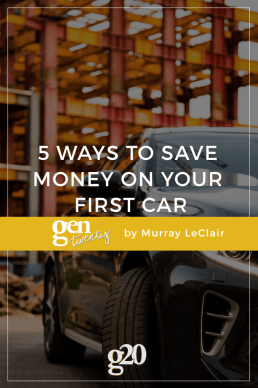 5 Ways to Save Money on Your First Car