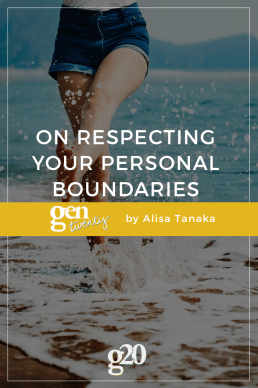 On Respecting Your Personal Boundaries