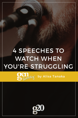 4 Speeches To Watch When You're Struggling