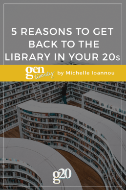5 Reasons To Get Back To The Library as a Millennial