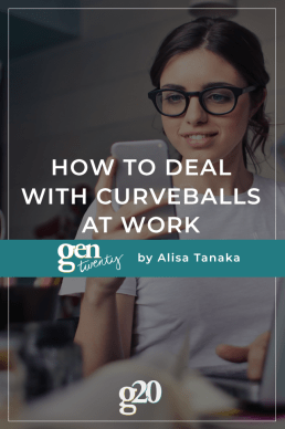 How To Deal With Curveballs At Work