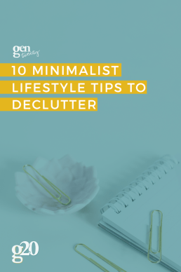 10 Minimalist Lifestyle Tips