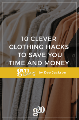 10 Clever Clothing Hacks To Save You Time And Money