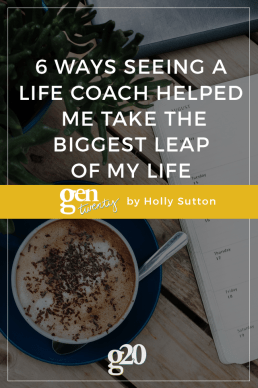 6 Ways Seeing a Life Coach Helped Me Take the Biggest Leap of My Life