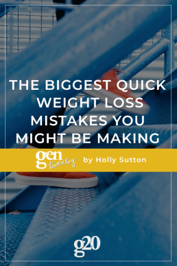 The Biggest Quick Weight Loss Mistakes You're Making