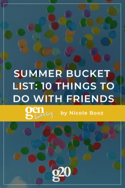 Summer Bucket List: 10 Things To Do With Friends