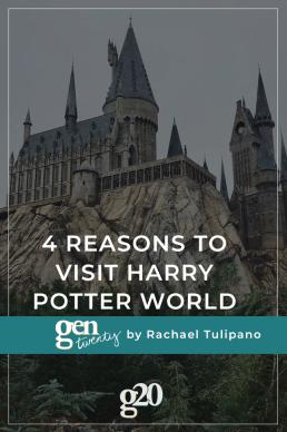 4 Reasons Millennials Should Visit Harry Potter World