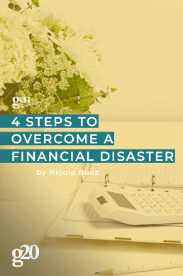 How To Overcome a Financial Disaster