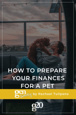 How To Prepare Your Finances For a Pet
