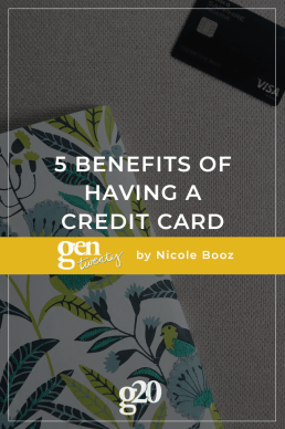 5 Benefits of Having a Credit Card