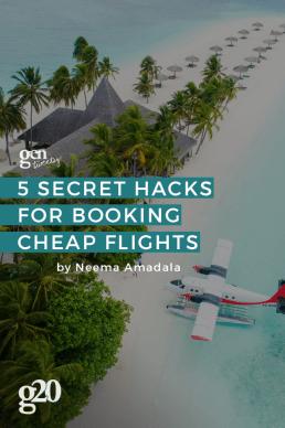 5 Secret Hacks for Booking Cheap Flights