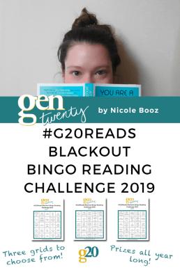 #G20Reads Blackout Bingo Reading Challenge 2019