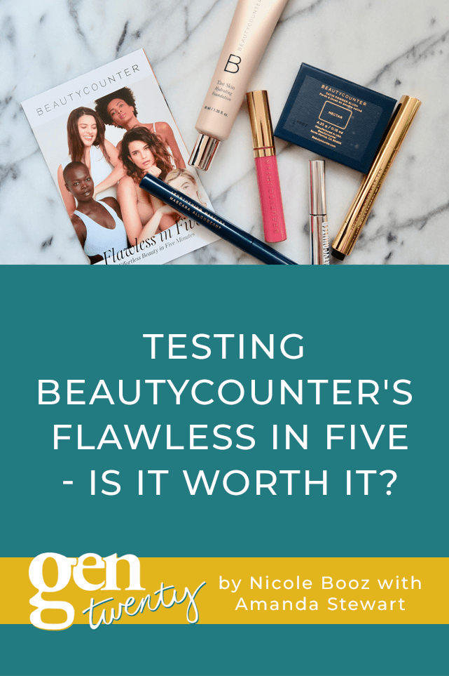 Testing Beautycounter's Flawless in Five - Is It Worth It?
