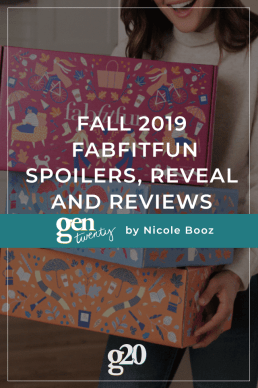 Fall 2019 FabFitFun FULL Spoilers, Reveal and Reviews