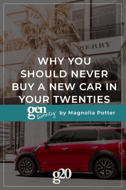 Why You Should Never Buy a New Car in Your 20s