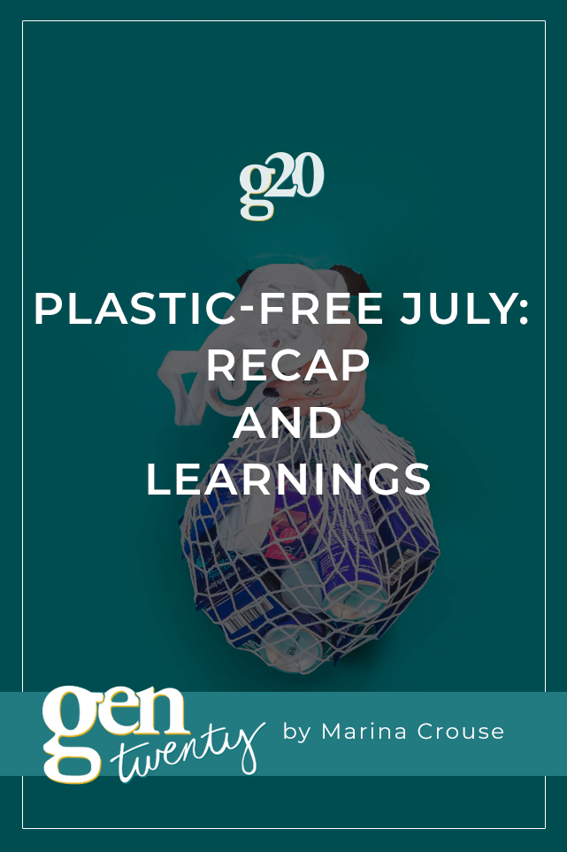 plastic-free july: what I learned