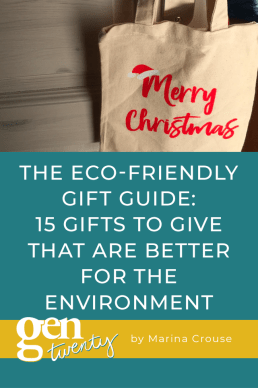 Eco-Friendly Holiday Gift Guide: 15 Gifts To Give That Are Better For The Environment