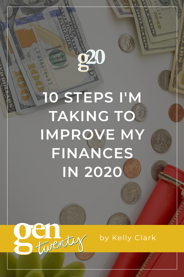 steps i'm taking to improve my finances