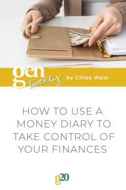 How To Use a Money Diary To Take Control of Your Finances