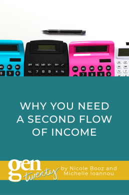 Why You Need A Second Flow of Income