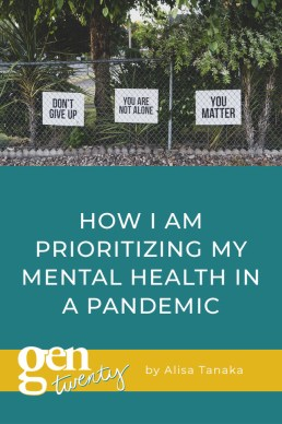 How I Am Prioritizing My Mental Health In A Pandemic