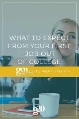 What To Expect From Your First Job Out of College