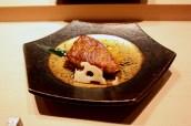 Tuna Cheek, Daikon, Pickled Lotus Root