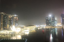 View from Room (Night)