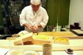 Making Uni Sushi