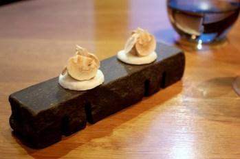 Foie Gras Meringue, Paris Mushrooms