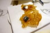 Seaweed crackers with tarmasalata & sardine