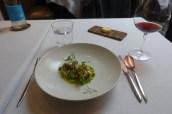 Cornish Cod, Peas, Broad Beans, Wild Mushrooms, Smoked Bacon