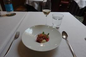 Gariguette Strawberries, Lemon, Almond