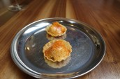 Crab Tartlet with Hollandaise