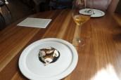 Raw Orkney Scallops, Hazelnuts, Clementine & Manjimup Truffle