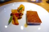 Noir de Bigorre Pork, Apricots, Girolles